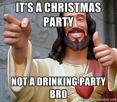 sober Christmas