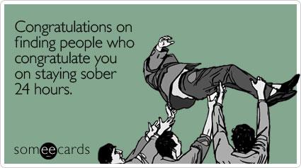 sober advice
